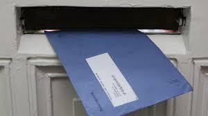 Help, een blauwe envelop!